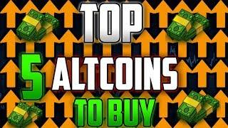 The Top 5 Altcoins To Invest In | The Best Cryptocurrency You Should Buy Now!