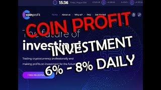 Coin Profit | 6% - 8% Daily | Bitcoin Fast Investment | Paying | 3 Level Referral