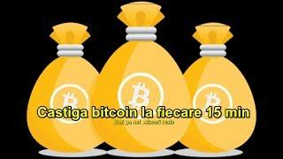 BTCBounty - Castiga gratis bitcoin la fiecare 15 minute!