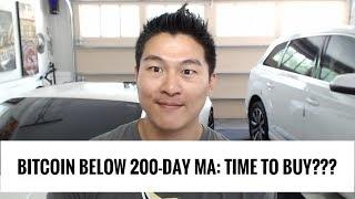 Bitcoin Below 200 Day MA - Time to Buy says Crypto Hedge Fund CEO Dan Morehead