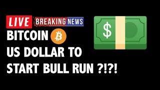 US Dollar Causing Bitcoin (BTC) Bull Run?! - Crypto Market Technical Analysis & Cryptocurrency News