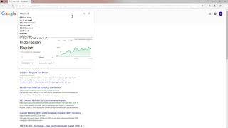 Google currency converter works for Bitcoin