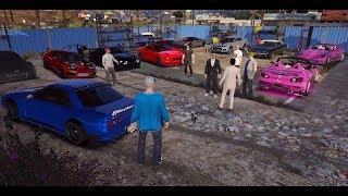 GTA 5 FiveM SARP   Chaotic Cops vs Dumb Racers - Chillin @ Bitcoin Millionaire House