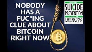 Bitcoin forecast are all sh*t right now! Suicide is not!