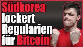 Südkorea lockert Regularien für Bitcoin und Co.   News am 12.07.2018