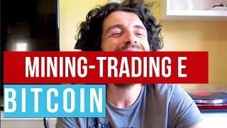 Trading view BITCOIN. Il MINING mantiene alto il prezzo!