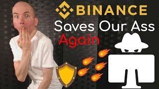 Binance Saves Our Ass Again As 1 SYS Sells For 96 BTC