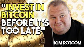 """INVEST IN BITCOIN Before It's TOO LATE"" - Kim Dotcom, Internet Genius, Explains Why Bitcoin Is Abou"