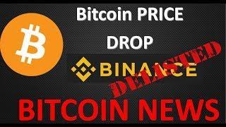 Bitcoin News: Bitcoin Drop and Binance Delisting (BCN, CHAT, TRIG, ICN)