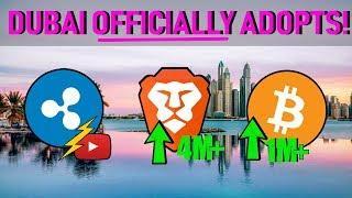 Ripple Announces NEW Company! | Dubai OFFICIALLY Adopts | Brave & Bitcoin Usage SOARS!