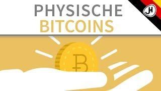 Physische Bitcoins - Wie sinnvoll sind sie?