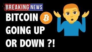 CRYPTO: BITCOIN UP OR DOWN?! CRYPTOCURRENCY,LITECOIN,ETHEREUM,XRP RIPPLE,TRON TRX,EOS,BTC PRICE NEWS