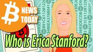 "Erica Stanford ""The Crypto Lady"" [Bitcoin News Today]"