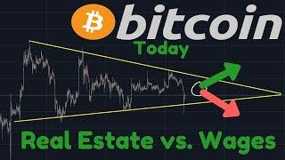 When Will Bitcoin Move Out Of This Range?!   Average Real Estate Vs. Average Paycheck