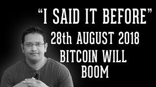Its 28th August - Start of Bitcoin Bull Rally. Bullish Altcoins You Shouldn't miss out in this rally