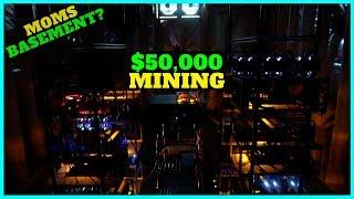He Setup A $50,000 Cryptocurrency Mining Farm In His Moms Basement?!