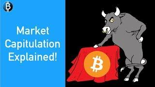 Crypto Market Capitulation Explained - Why It's CRUCIAL For This To Happen!