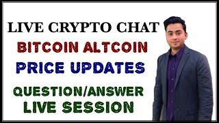 Bitcoin altcoin crypto Live chat price updates