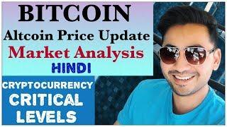 Bitcoin Btc Altcoin price update analysis Hindi Trx Eos Ada Sia coin Ripple Ethereum Litecoin