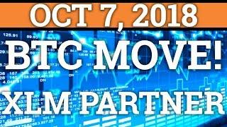 BITCOIN BTC PREPARING FOR A BIG MOVE? STELLAR! (CRYPTOCURRENCY PRICE + DAY TRADING + NEWS 2018)