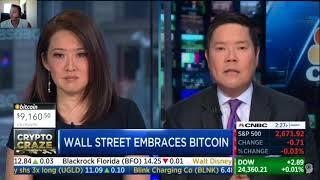 Wall Street Bullish on Cryptocurrency / Bitcoin!!   | CNBC Fast Money