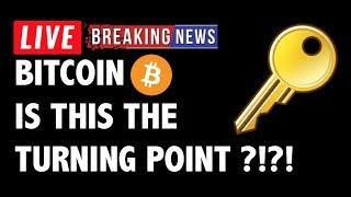 Is This The Turning Point for Bitcoin (BTC)?!-Crypto Market Technical Analysis & Cryptocurrency News