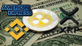RIPPLE XRP Will Be BINANCE BASE CURRENCY? Ripple American Express Deal! BITCOIN WINNER!
