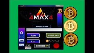bitcoin 4 BTC earn BITCOINS 4max4 (new)