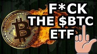 Bitcoin ETF ???????? THEFT From 401ks ???? The Largest P&D In History $BTC News