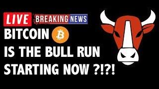 Is The Bitcoin (BTC) Bull Run Starting Now?!- Crypto Market Technical Analysis & Cryptocurrency News