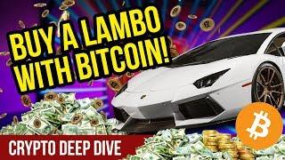 Buy a Lambo with Bitcoin? - Buy and Sell Items with CryptoCurrency - BitStash Crypto Review