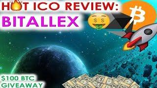 HOT ICO REVIEW: BITALLEX | AIRDROP FOR REGISTRATION IS LIVE
