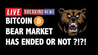Has The Bitcoin (BTC) Bear Market Ended or Not?! - Crypto Technical Analysis & Cryptocurrency News