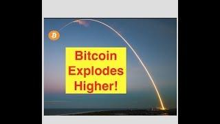 Bitcoin Pops! Wild, Wild West of Cryptos!! (Bix Weir)