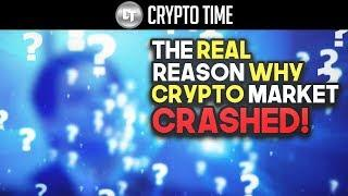 The REAL reason why the Cryptocurrency Market CRASHED! (Will it continue?)