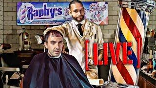 Live Haircut While Talking Bitcoin - For the Trolls!