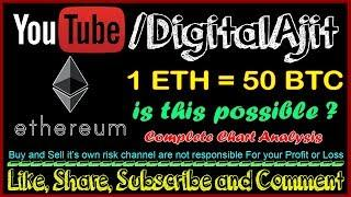 is this possible 1 Ethereum = 50 Bitcoin Ethereum price analysis 2018