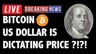US Dollar Is Dictating Bitcoin (BTC) Price?! - Crypto Trading & Cryptocurrency News