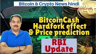Bitcoin & Crypto News, RBI Case Update, Bitcoin Cash Hardfork, Bitcoin ABC, Price prediction, Tron,
