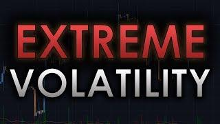 EXTREME VOLATILITY FOR BITCOIN MAY BE INCOMING... - BTC/CRYPTOCURRENCY TRADING ANALYSIS