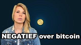 ???? Negatief over het koersverloop van bitcoin - Misss Bitcoin