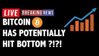 Has Bitcoin (BTC) Potentially Hit Bottom?! - Crypto Market Technical Analysis & Cryptocurrency News