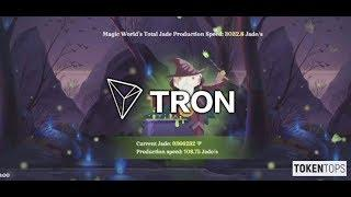 TRON #TRX - First Blockchain Game - BitTorrent To Pay Users With TRX