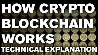How the BlockChain actually works :: Technical Explanation