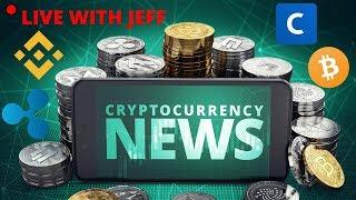 Crypto News - Coinbase, Ripple, Bitcoin Dominance, Binance LCX