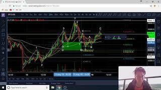 August 16 Bitcoin Elliot Wave Technical Analysis - Both Bearish and Bullish Scenarios