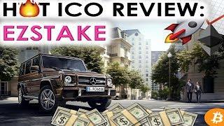 HOT ICO REVIEW: EZSTAKE | ZERO EXCHANGE FEES & AUTOMATIC WITHDRAWALS