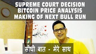 Making of Next Bitcoin BULL Run & BTC Price Analysis Supreme court Decision on RBI Banks & Exchanges