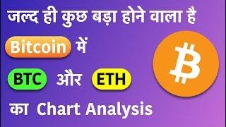 होने वाला है कुछ बड़ा Bitcoin मैं    Bitcoin and ETH Chart Analysis in HINDI
