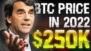 """Bitcoin Will Still Reach $250K By 2022"" - Bitcoin Bull And Billionaire Explains Why"